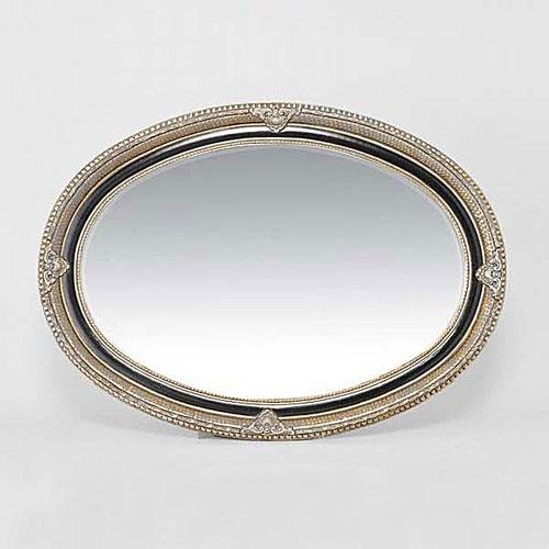 Spiegelrahmen die rahmenmanufaktur for Spiegel oval silber